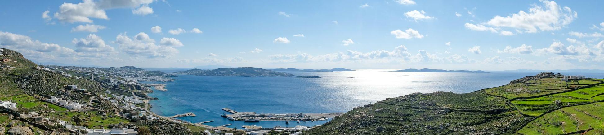 Mykonos View Location